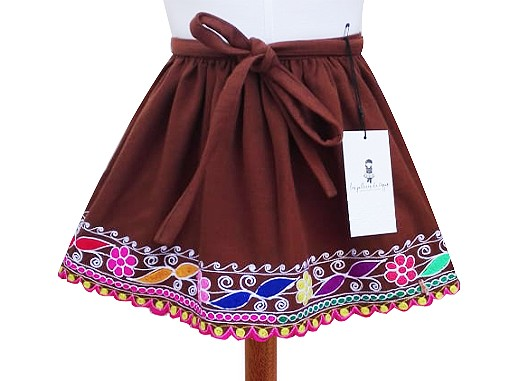 Acomayo Andean Skirt,  Size 4 - 8