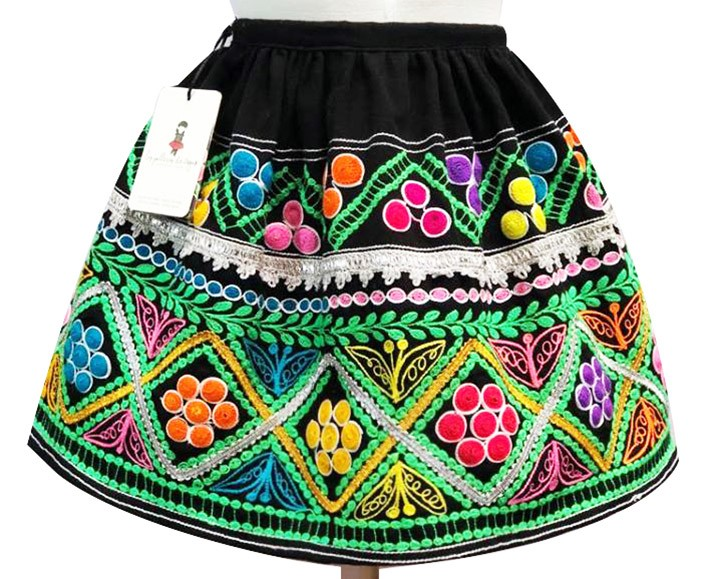 Ccatca andean skirt, Size 4 - 6