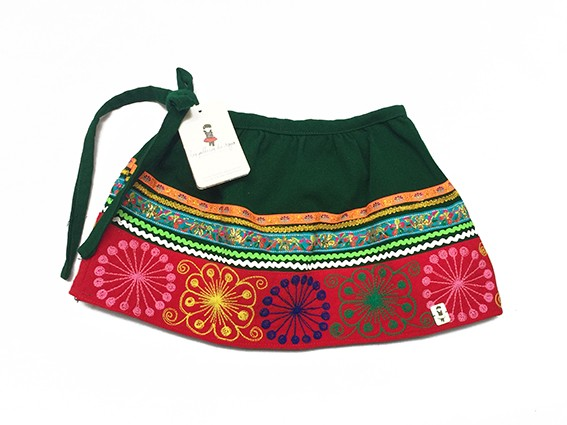Quispicanchis Andean Skirt - Size 4