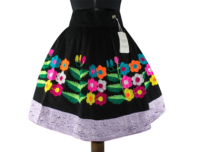Pomabamba andean skirt, Size M