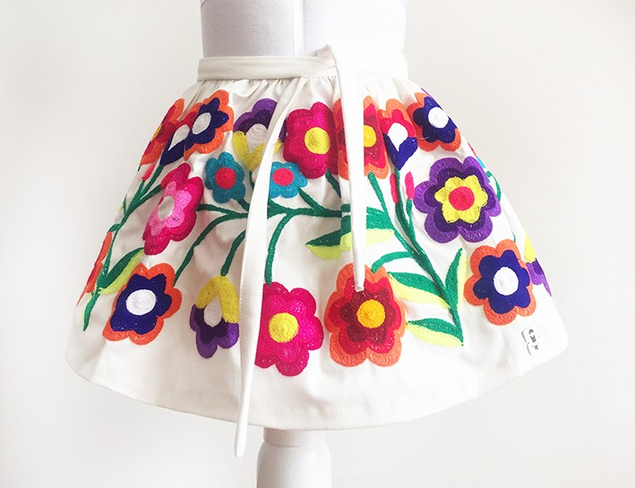 Cusco Andean Skirt - Size 4 - 6