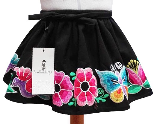 San Pablo andean skirt, Size  4