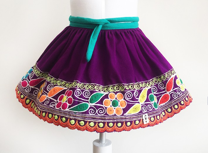 Cusco andean skirt, Size 2