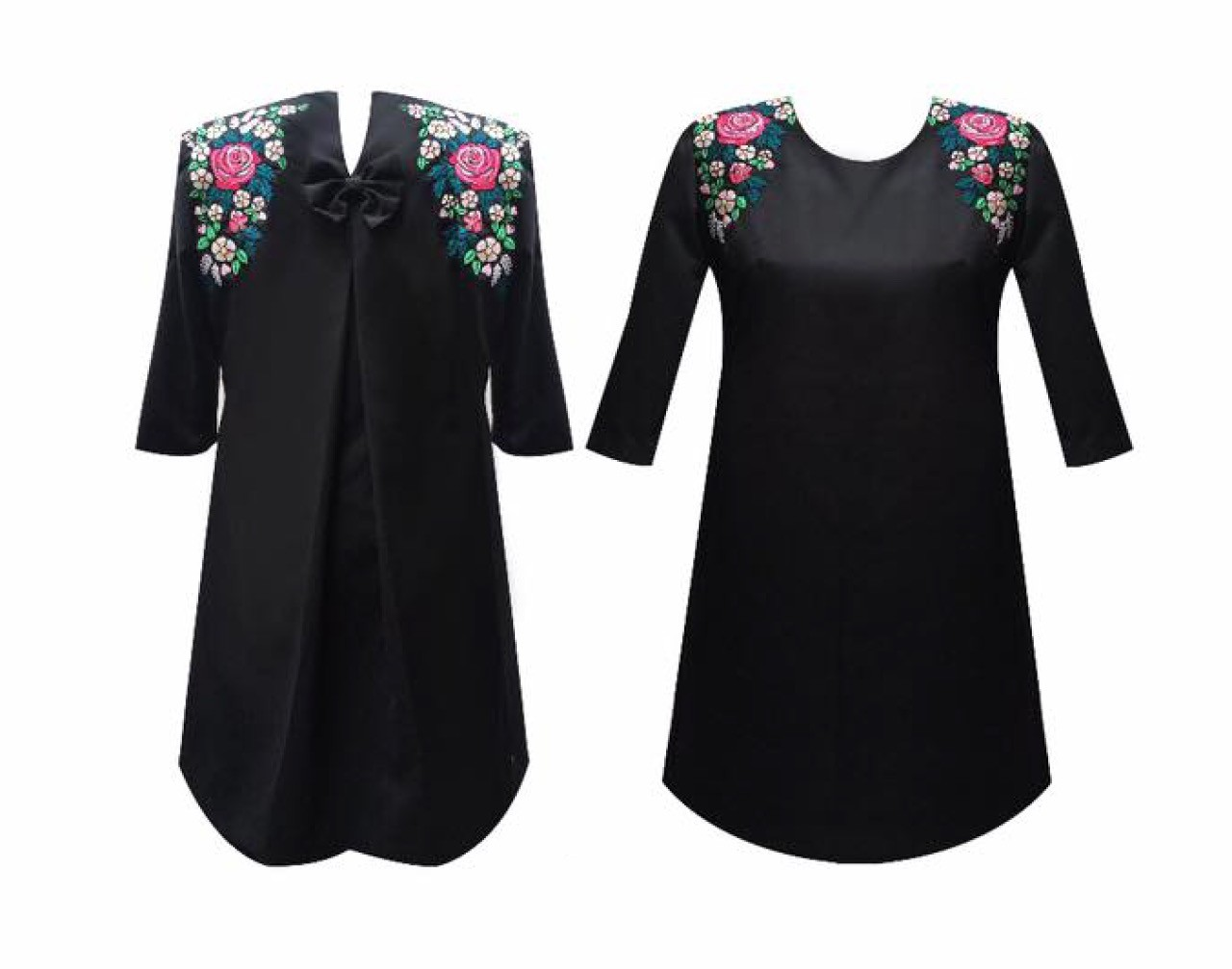 Florencia embroidered dress, Size M
