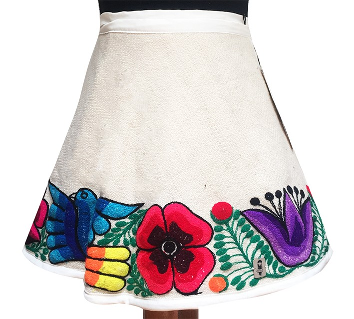 San Pablo andean skirt, Size 6 - 8 - 10
