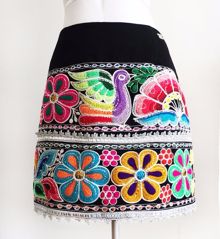 San Pablo andean skirt, OUT OF SALE