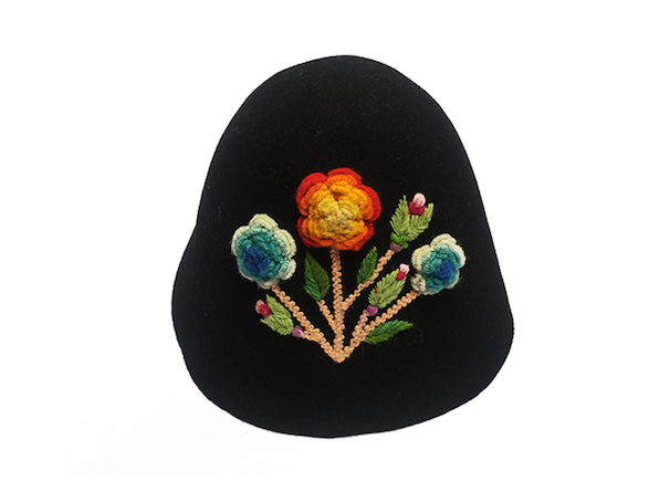 Huamanga embroidery hat
