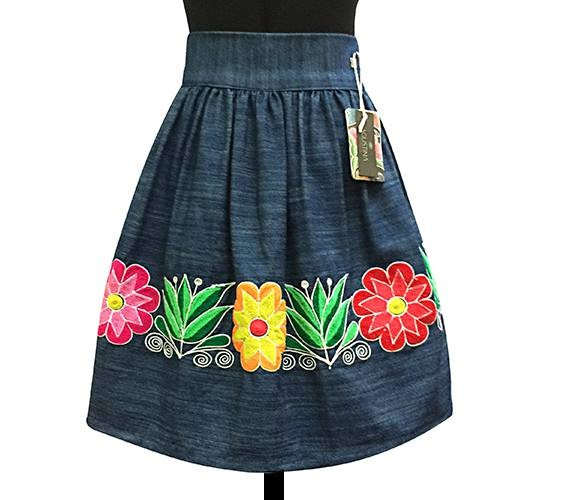 Huamanga Andean Skirt - Size S - M - L