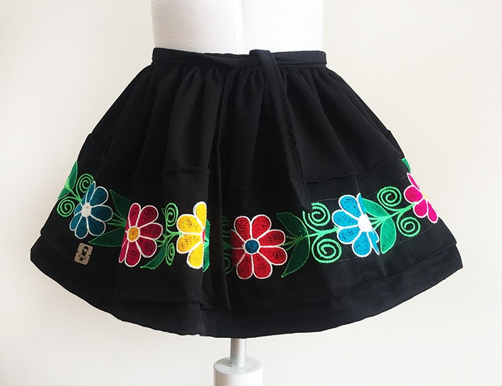 Huamanga andean skirt, OUT OF STOCK