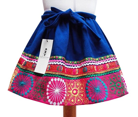 'Quispicanchis andean skirt, Size 8