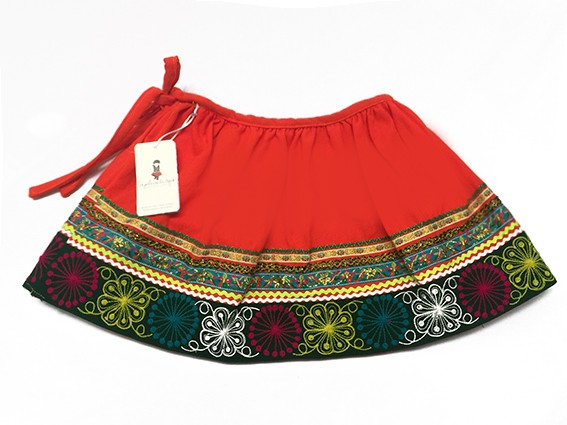 Quispicanchis Andean Skirt - Size 10