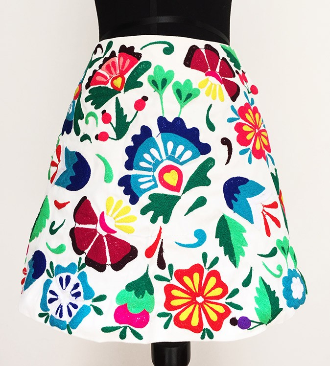 Junin andean skirt, Size S - M - L