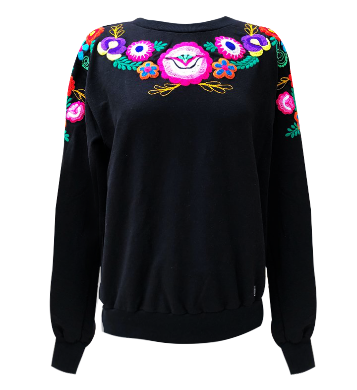 Embroidery - Sweat shirt, OUT OF STOCK