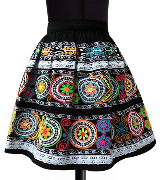 Calca andean skirt, Size S