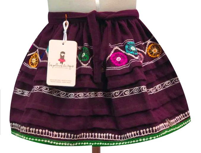 Tinta andean skirt, Size 4