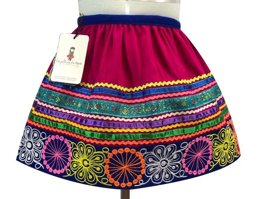 Quispicanchis andean skirt, Size 6