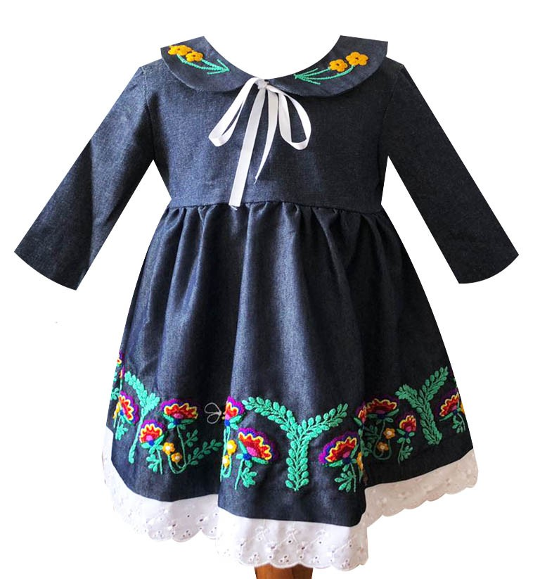 Cusco andean dress, Size 2 - 4 - 8