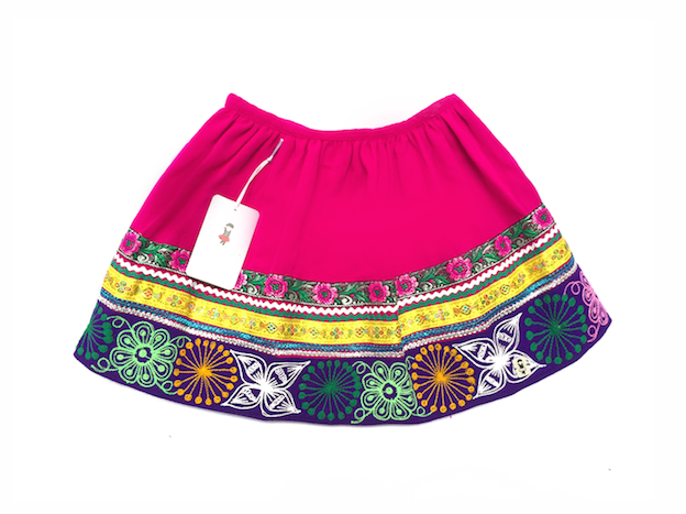 Quispi Andean Skirt - Size 4 - 10