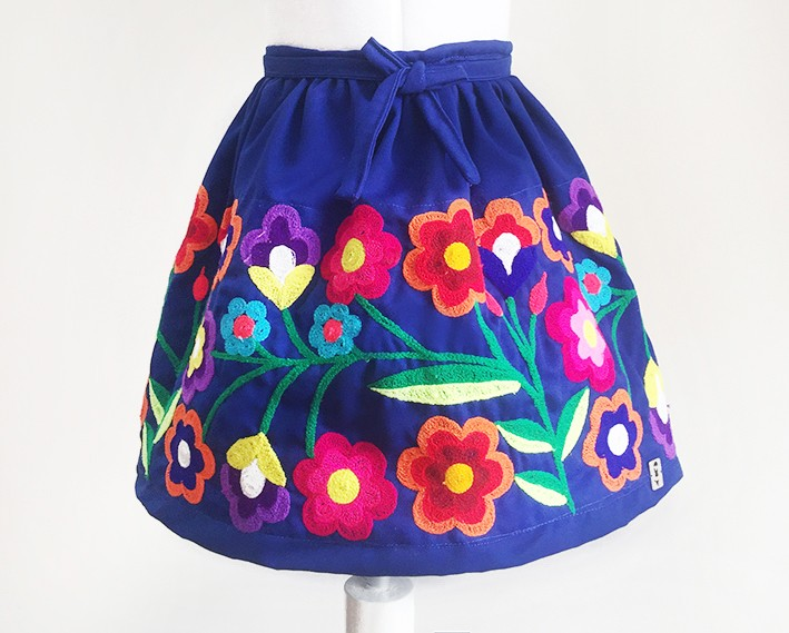 Cusco Andean Skirt - Size 10 USA