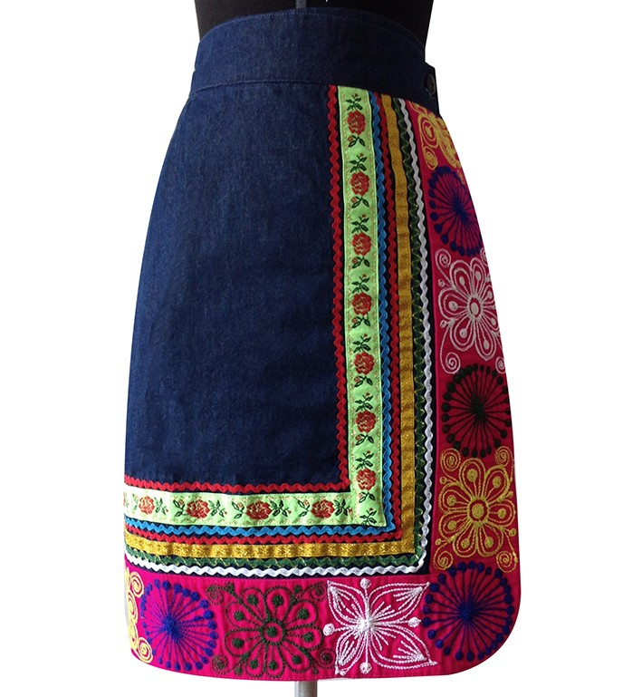 Quispicanchis Andean Skirt, Size M