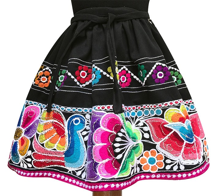 San Pablo andean skirt, Size 12