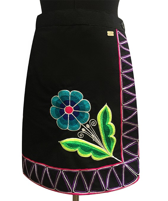Cusco andean skirt, Size S - M - L