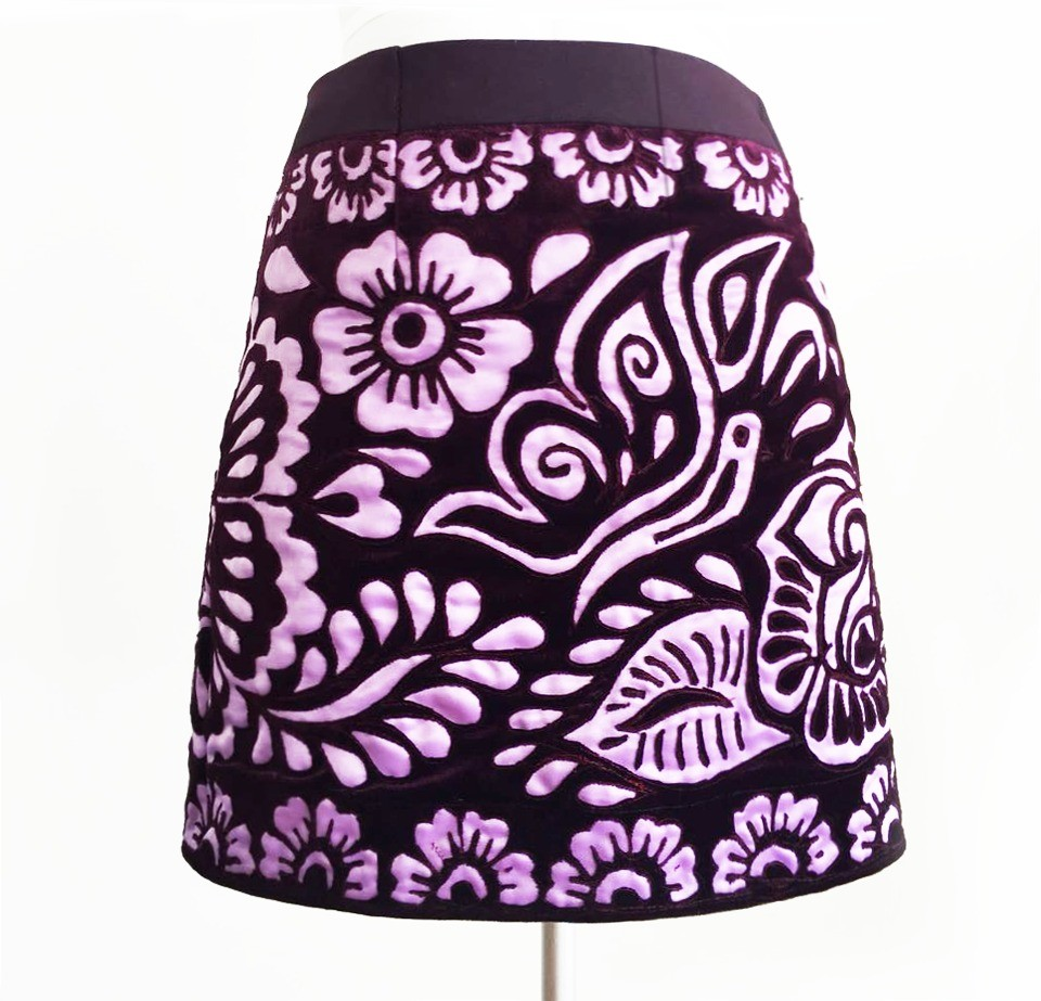 Chumbivilcas andean skirt, Size S